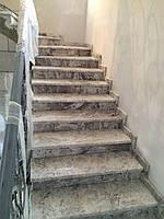 Лестница из мрамора Volakas