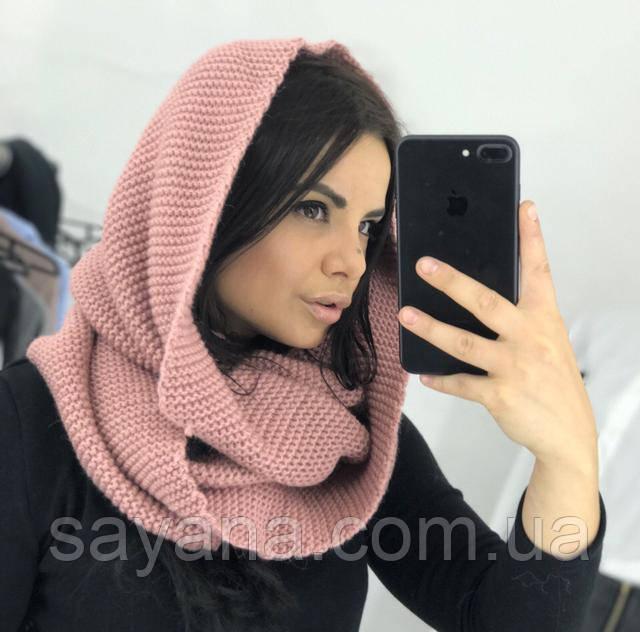 стильный шарф-хомут