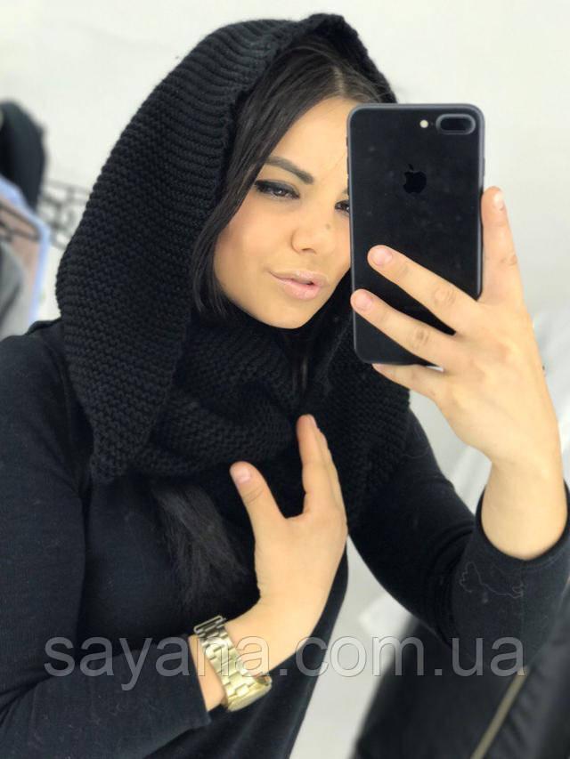 классный шарф-хомут
