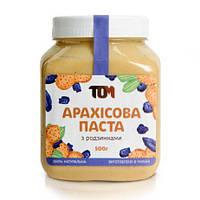 Арахисовая паста Tom (500g) Изюм