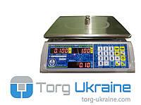 Весы торговые Vagar VP-LN-15 LЕD, до 15 кг