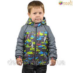 Куртка на нейлоновой подкладке «Самолёты» Omali