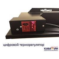 Конвекционный обогреватель ЧЕРНЫЙ 950 ВТ 1200х600 с терморегулятором ECO HEAT