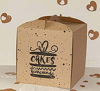 Коробка для торта 30см х 30см х 30см