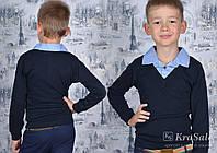 Свитер-обманка для мальчиков