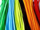 Синельная Проволока Зеленая блестящая 30 см 60 грн/100 шт, фото 2