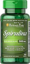 Puritan's Pride Spirulina 500 mg 100 Tablet