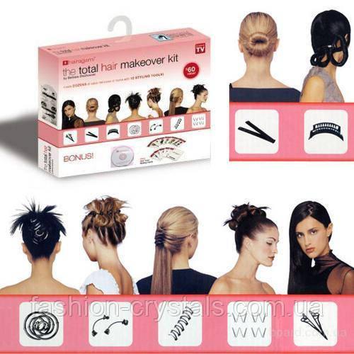 Набор заколок Hairagami+обучающий диск