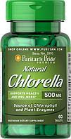 Puritan's Pride Natural Chlorella 500 mg 500 mg 60 Tablets