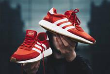 Мужские кроссовки Adidas Iniki I-5923 Runner Boost Red BY9728, Адидас Иники Ранер I-5923, фото 3