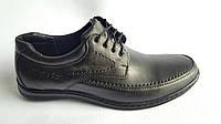Мужские кожаные туфли Matador на шнурке