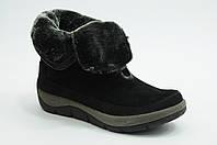 Зимние женские ботинки с натуральным мехом