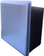 Готовый стекловолоконный приямок с крышкой-камень, бокс 1,2 х 1,3 х 0,6 м