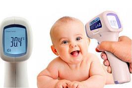 Инфракрасный бесконтактный термометр пирометр Babylon BLTH-2 измеряет температуру тела