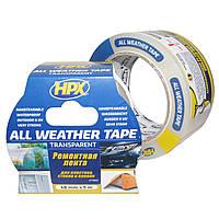 ALL WEATHER TAPE - прозрачная ремонтная лента (скотч) HPX для стекла, пластика и пленок