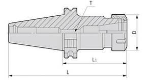 SK40-ER11-70(DIN69871)  Патрон цанговый, фото 2