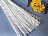 Синельная Проволока Белая 30 см, фото 1