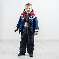 Модный детский зимний комбинезон Бенеттон Нью, новинка зима 2017