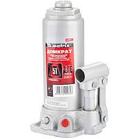 Домкрат гидравлический бутылочный, 5 т, h подъема 216–413 мм// MTX MASTER