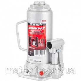 Домкрат гідравлічний пляшковий, 10 т, h підйому 230-460 мм// MTX MASTER