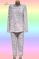 """Купить пижамуженскую, теплую,из плюшевой махры в интернет-магазине """"Сияние Луны"""". Размеры от 44 до 58"""