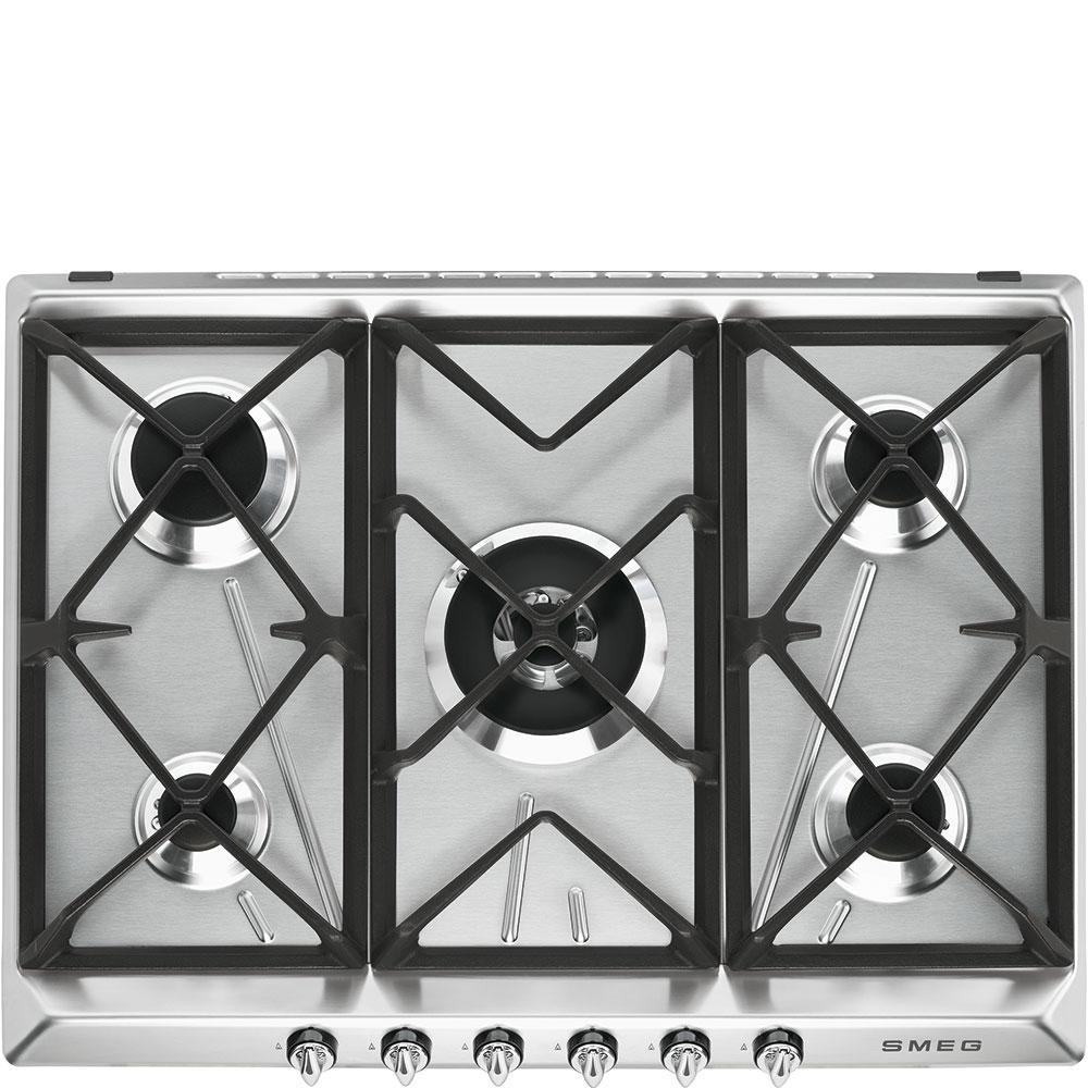 Газовая варочная панель Smeg SR975XGH