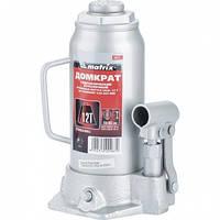 Домкрат гидравлический бутылочный, 12 т, h подъема 230–465 мм// MTX MASTER
