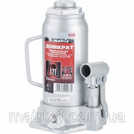 Домкрат гідравлічний пляшковий, 12 т, h підйому 230-465 мм// MTX MASTER