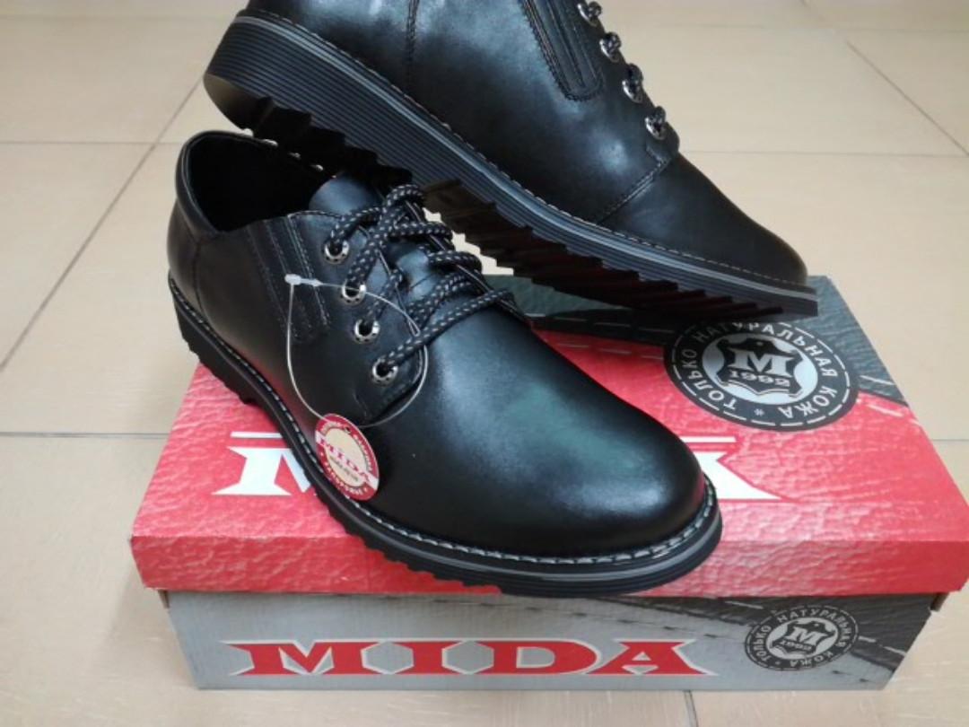 02257d482e5f Туфли мужские из натуральной кожи МИДА 11526. - интернет-магазин обуви
