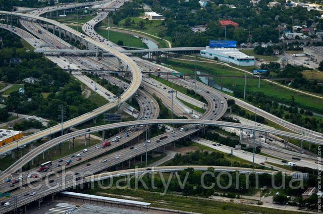 Бетонные дороги в США