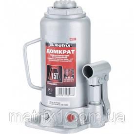 Домкрат гідравлічний пляшковий, 15 т, h підйому 230-460 мм// MTX MASTER