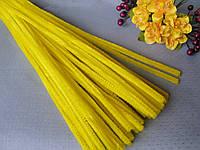 Синельная Проволока Желтая 30 см, фото 1