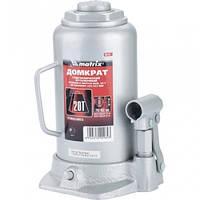 Домкрат гидравлический бутылочный, 20 т, h подъема 242–452 мм// MTX MASTER