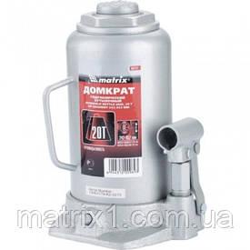 Домкрат гідравлічний пляшковий, 20 т, h підйому 242-452 мм// MTX MASTER