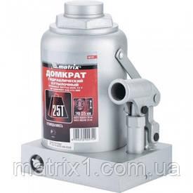 Домкрат гідравлічний пляшковий, 25 т, h підйому 240-375 мм// MTX MASTER