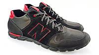 Кожаные кроссовки NB Big Boss black night 50