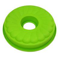Силиконовая круглая форма для выпечки кекса Vincent VC-1476