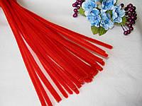 Синельная Проволока Красная 30 см, фото 1