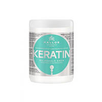 Маска для волос с кератином Kallos Keratin Hair Mask, 1000 мл