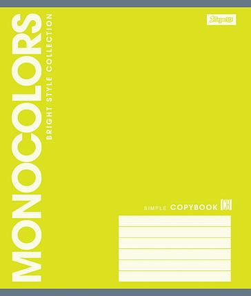 Тетрадь А5 12 листов клетка 1 Вересня MonoColors-17 760473-24, фото 2