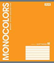 Тетрадь А5 12 листов клетка 1 Вересня MonoColors-17 760473-24, фото 3