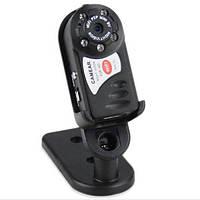 Wifi/P2P мини камера видеонаблюдения Q7. Датчик движения, ночная съёмка