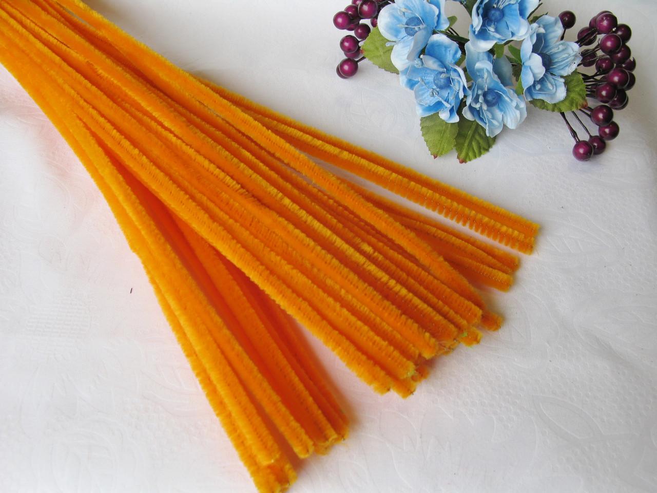 Синельная Проволока Оранжевая 30 см