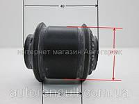 Втулка (верх.) заднего амортизатора (оригинального) на Рено Кенго (1998-2008) BC (Украина) BC1202