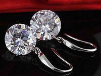 Серьги Tiffany Звездное Сияние покрытие серебром 925 (TF-E012)