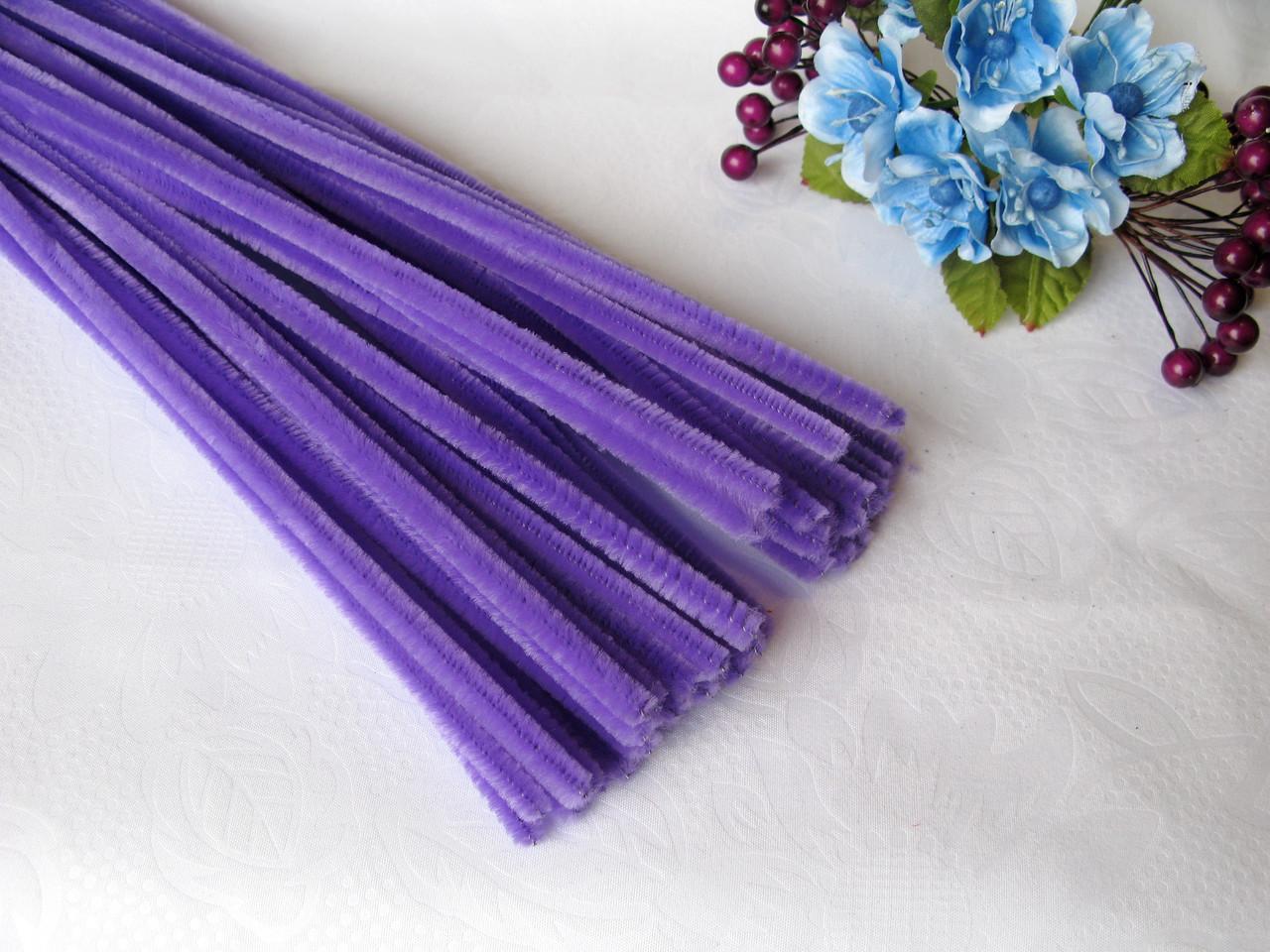 Синельная Проволока Фиолетовая 30 см