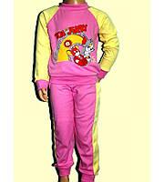 Пижама Детская Том и Джери Интерлок Розовая Рост 74-110 см