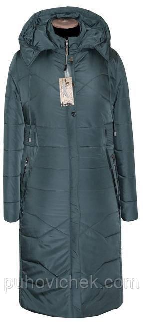 Модное зимнее пальто женское большие размеры