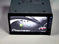 Магнитола Pioneer PI-713 2din GPS цветная камера и TV антенна, фото 1