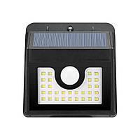 LED светильник 3,5W с датчиком, на солнечной батарее
